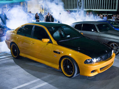 BMW 5 Serie uit Fast and Furious