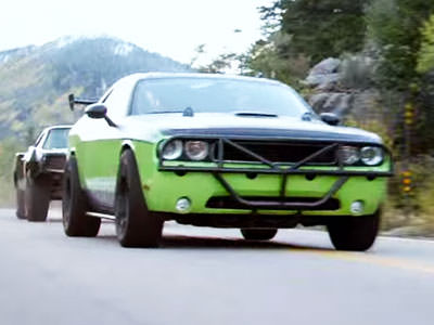 Dodge Challenger SRT-8 uit Furious 7