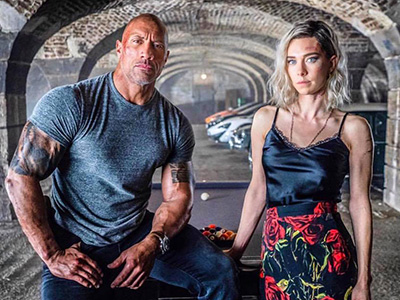 Dwayne Johnson en Vanessa Kirby