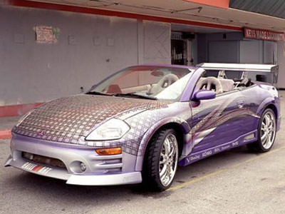 Mitsubishi Eclipse Spyder uit 2 Fast 2 Furious