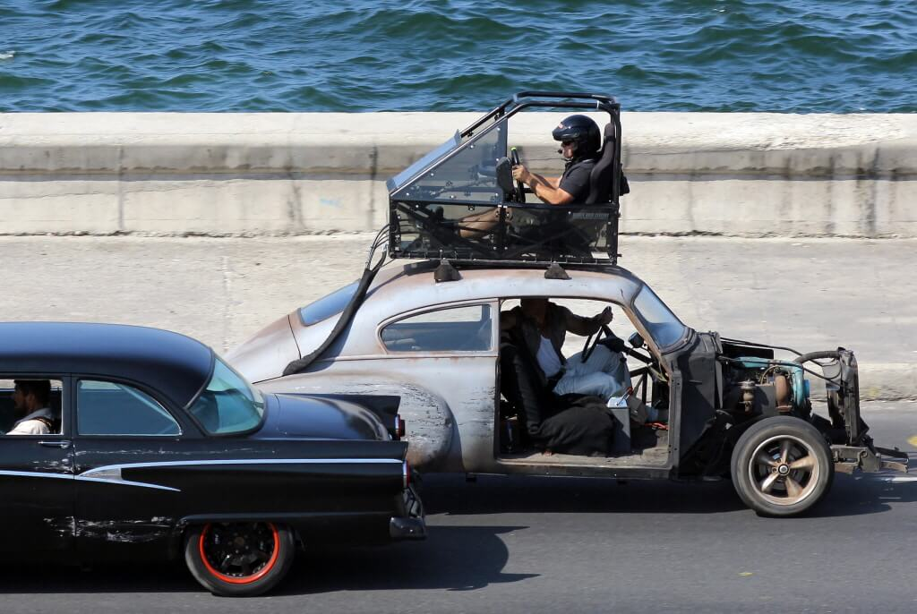 Opnames Fast and Furious 8 in Cuba