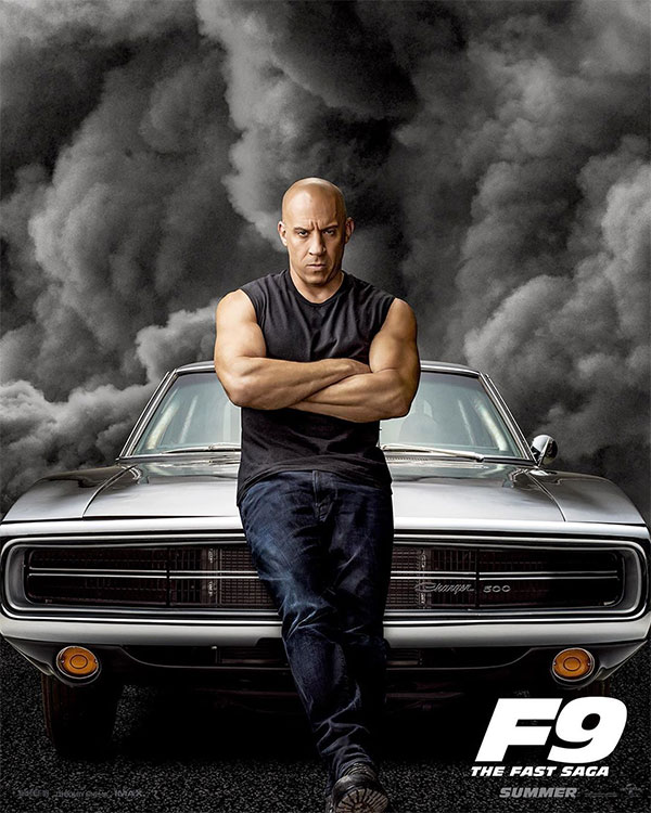 Dominic Toretto in Fast & Furious 9
