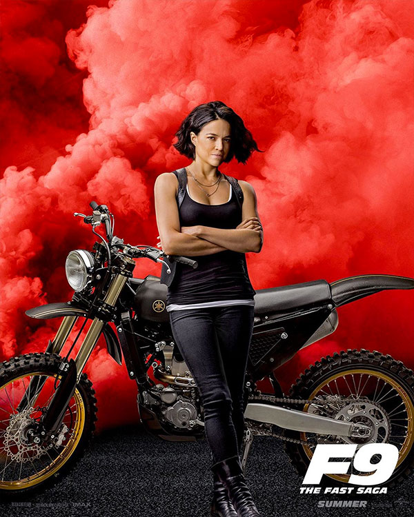 Michelle Rodriguez in Fast & Furious 9