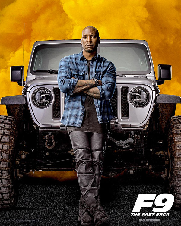 Roman Pearce in Fast and Furious 9