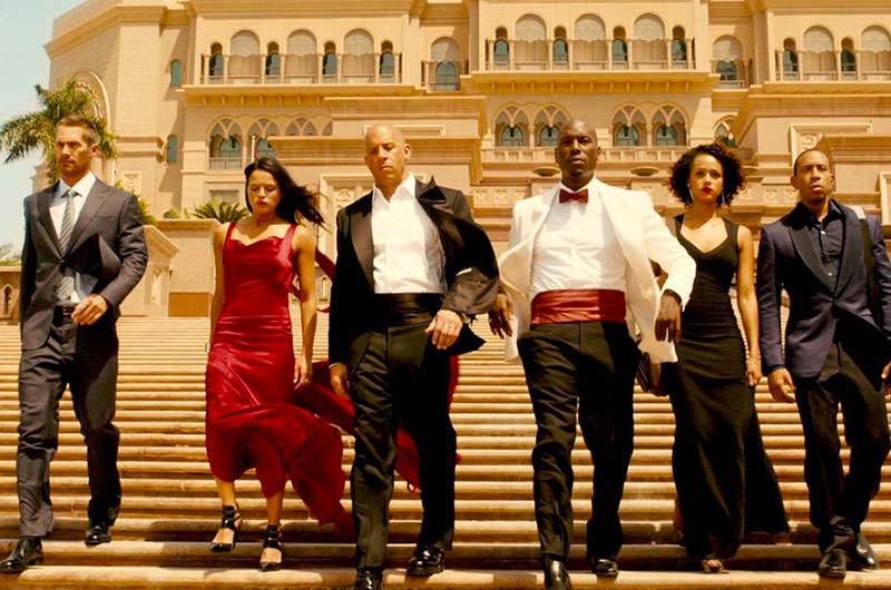 Crew Furious 7 in Abu Dhabi