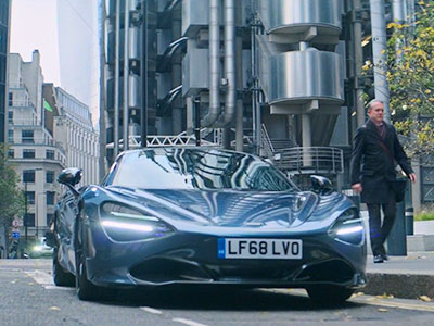 McLaren 720S uit Hobbs and Shaw