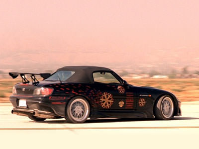 Honda S2000 uit The Fast and the Furious
