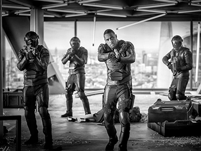 Idris Elba in Hobbs and Shaw