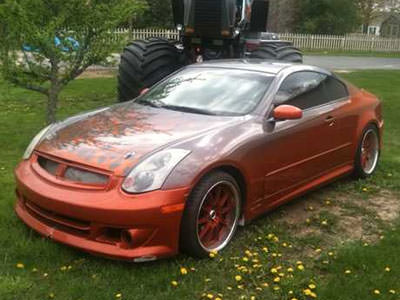 Infiniti G35 uit Fast and Furious