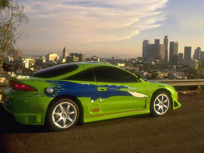Mitsubishi Eclipse uit The Fast and the Furious