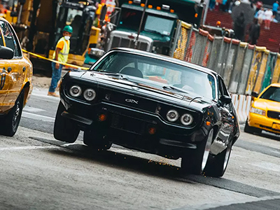 Plymouth GTX uit Fast and Furious 8