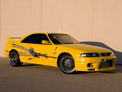 Nissan Skyline GT-R uit The Fast and the Furious