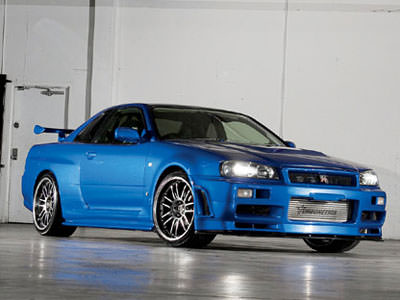 Nissan Skyline Turbonetics uit Fast and Furious